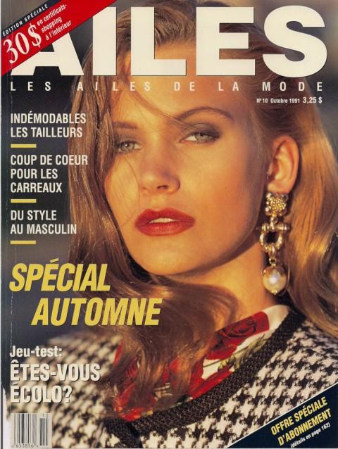 Ailes de la Mode Oct 1991 0